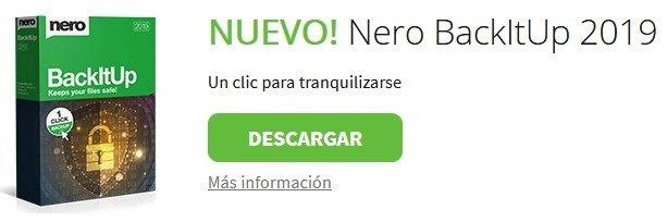 Nuevo Nero Essentials Back it Up gratis para pc