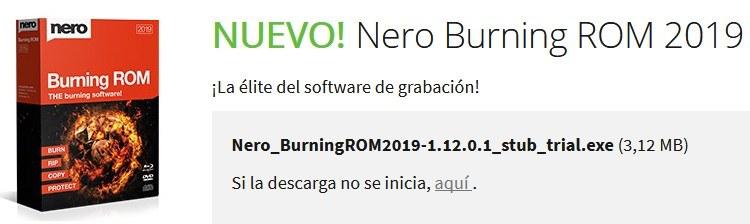 Nero Essentials para PC Windows Descargar Gratis Ahora